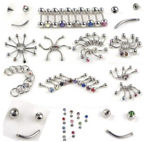 Fashion-Body-Jewelry-Tongue-Nose-Belly-Ear-Piercing-110pcs
