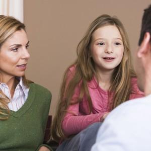 conversa criança pais