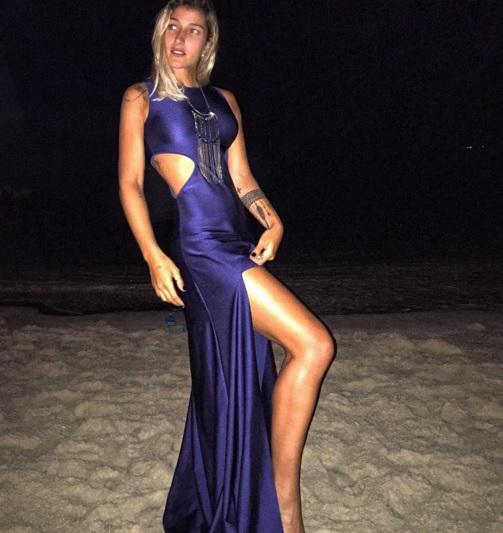 Gabriela Pugliesi usando um modelito para arrasar no réveillon.