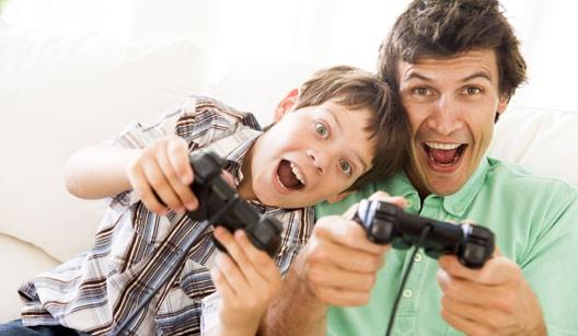 Filho-e-Pai-Video-Game