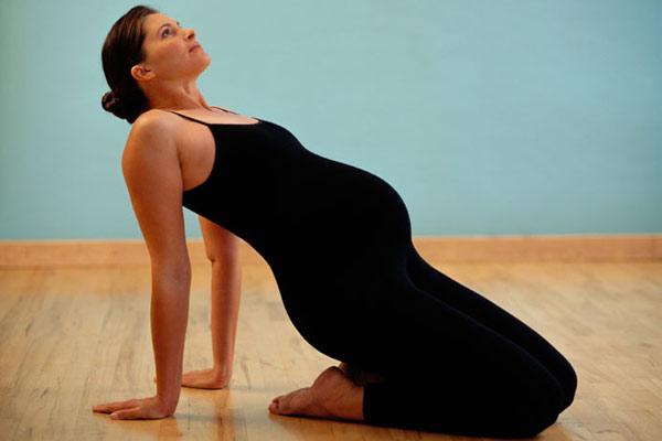 gravida se exercitando