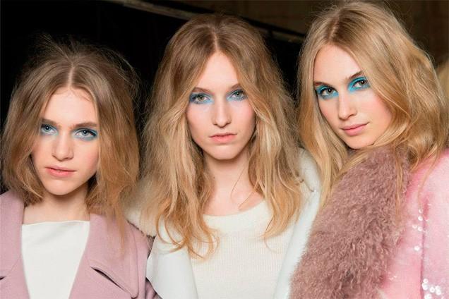 maquiagens da Semana de Moda de Londres