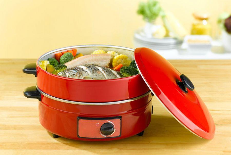 Equipamentos de cozimento a vapor preservam os nutrientes dos alimentos
