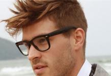 luzes no cabelo masculino