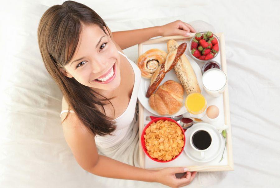 cardápio de café da manhã