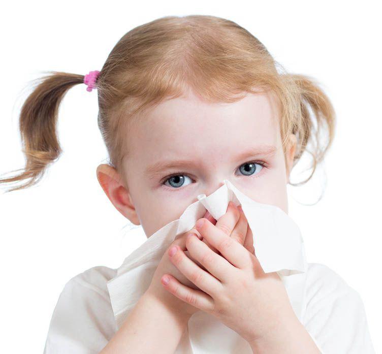alergia em crianças