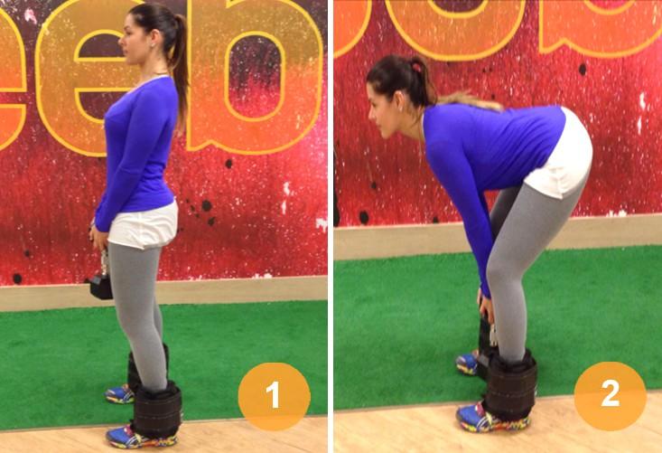 como tornear as pernas exercicio 1