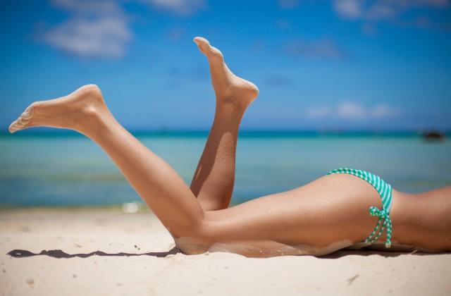 pernas ao sol