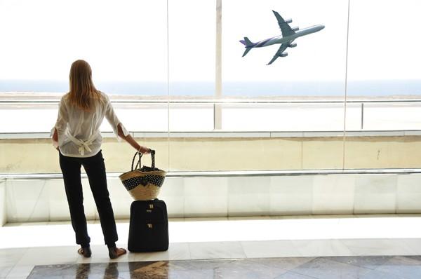 exercícios para fazer no aeroporto