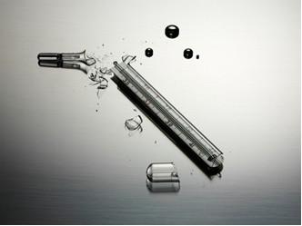 intoxicação com o mercúrio do termômetro