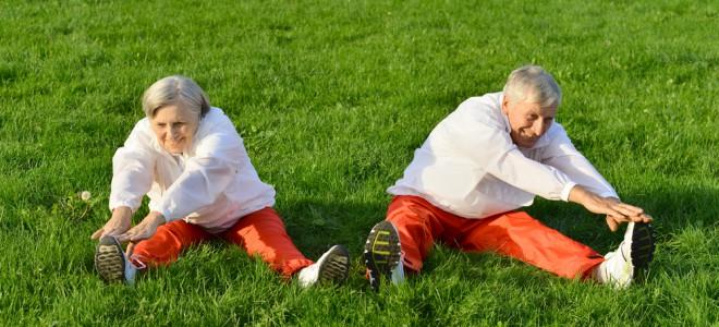 Idosos devem exercitar músculos como forma de evitar a ocorrência de quedas. Foto: Shutterstock