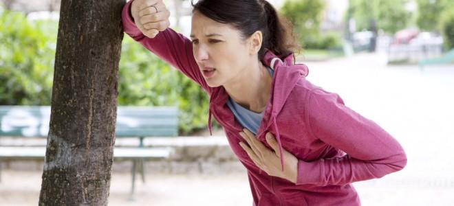 Falta de ar ao praticar exercício físico é sintoma da insuficiência cardíaca. Foto: Shutterstock