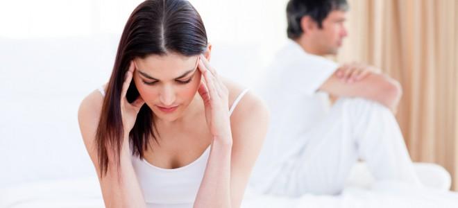 Disfunções da tireoide podem levar mulher à falta de ânimo e queda da libido. Foto: Shutterstock