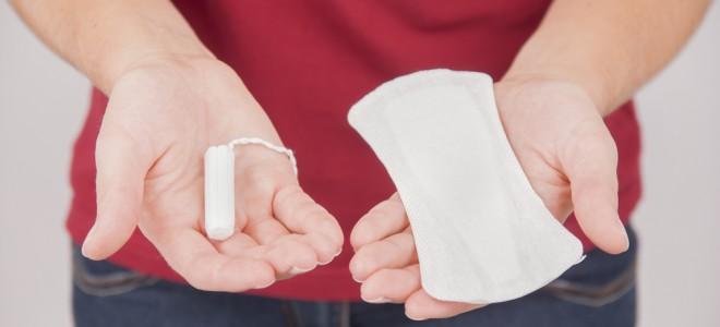 Vários tipos de absorventes conferem à mulher total liberdade para escolher. Foto: Shutterstock