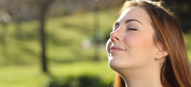 A respiração é responsável por 80% da eliminação de toxinas do corpo. Foto: Shutterstock