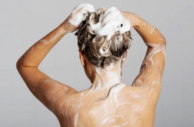 lavar cabelos