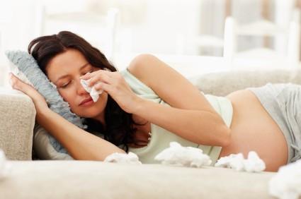 sinusite na gravidez