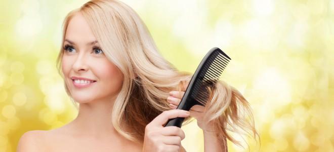 Xampu a seco dá um efeito uniforme e não carregado, com fios bonitos e leves. Foto: Shutterstock