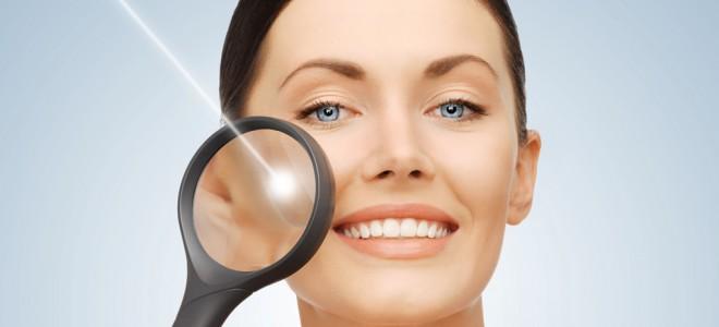 Luz pulsada combate o envelhecimento e também pode melhorar o brilho da pele. Foto: Shutterstock