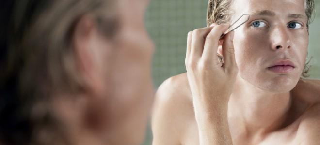 Homens que cuidam da sobrancelha deixam uma impressão positiva nas mulheres. Foto: Shutterstock