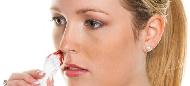 Nariz contém muitos vasos sanguíneos pequenos que sangram com grande facilidade. Foto: Shutterstock