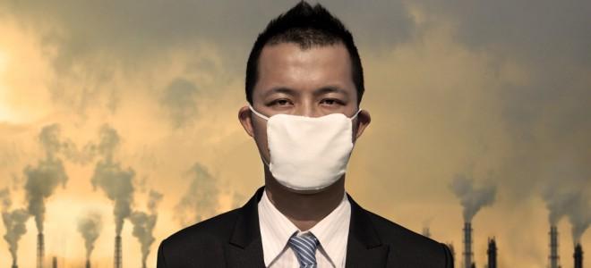 Poluição em grandes cidades é potencialmente perigosa ao sistema respiratório. Foto: Shutterstock