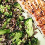 arroz selvagem e integral com brocolis 2