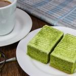 bolo de cha verde