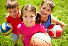 atividades físicas para crianças
