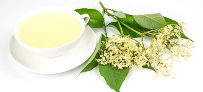 Chá de sabugueiro ajuda a tratar a rinite. Foto: iStock, Getty Images