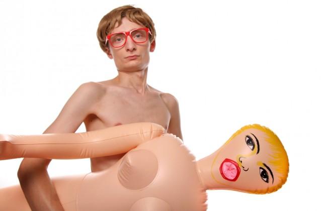 boneca inflável