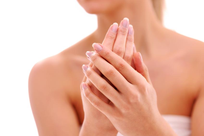 alergia nas mãos