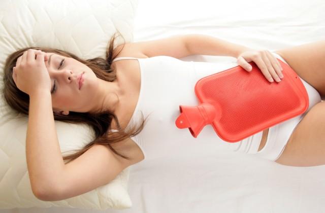 cha para menstruacao descer