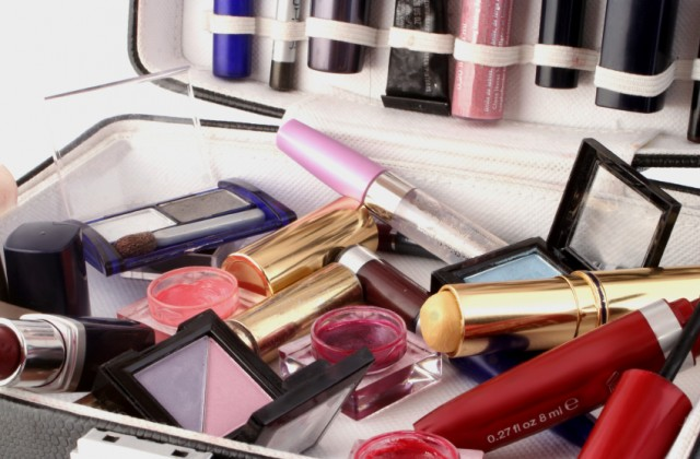 maleta para guardar maquiagem