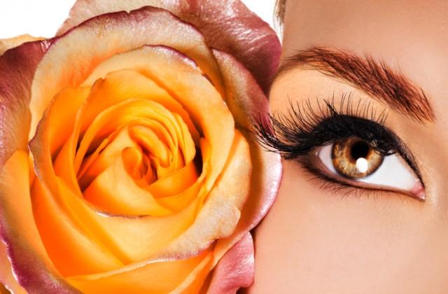 maquiagem laranja