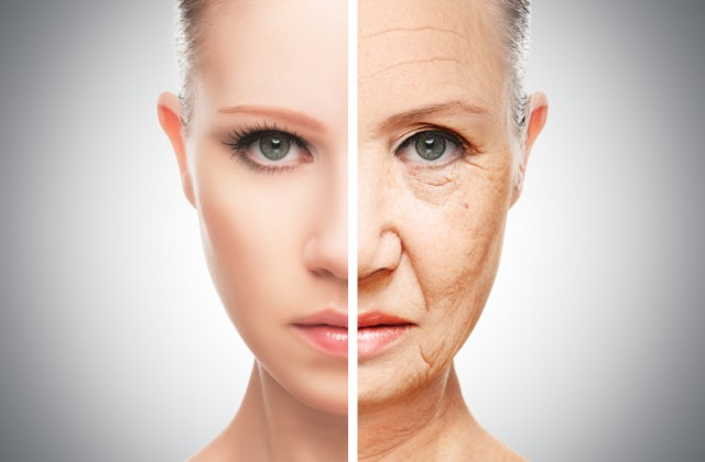 envelhecimento precoce da pele