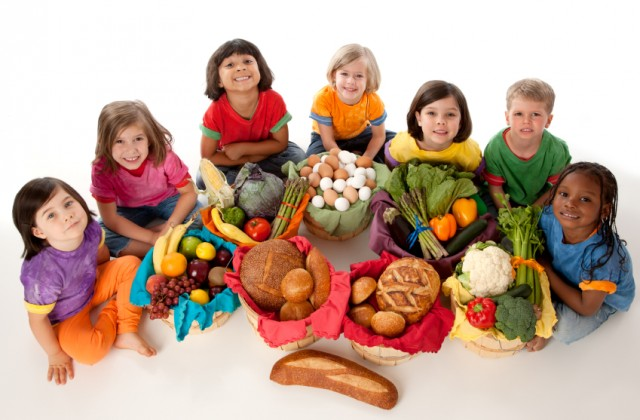 piramide alimentar infantil
