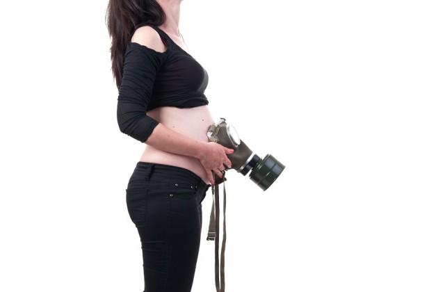 poluição na gravidez