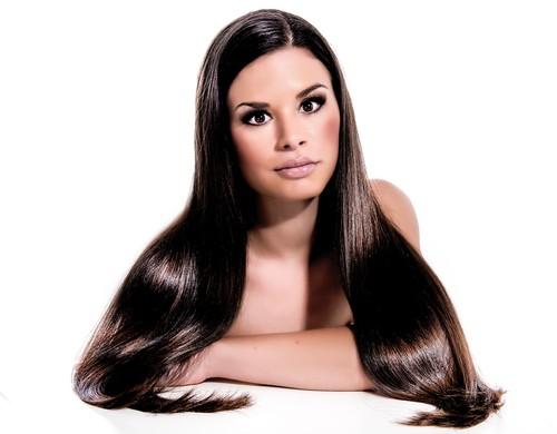 alisar o cabelo naturalmente