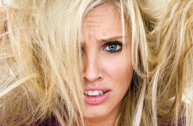 cabelo opaco