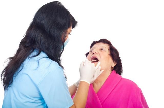 exames de sangue e saliva