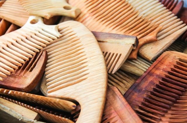 pente de madeira