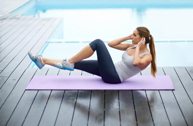 abdominais para perder barriga