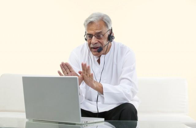 O processo de psicoterapia online não deve substituir as consultas presenciais. Foto: Shutterstock