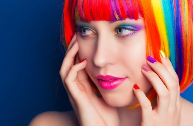rainbow hair doutíssima shutterstock cabelos coloridos