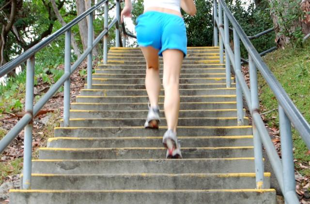 subir escada emagrece