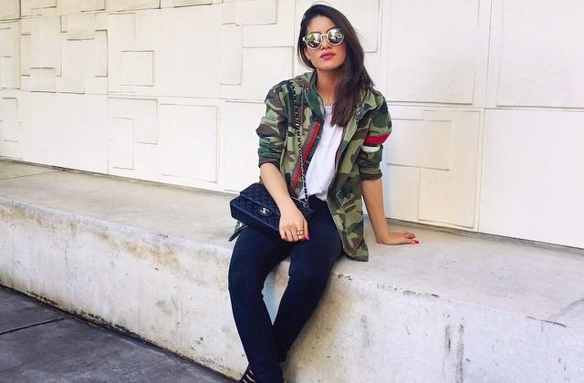 estilo militar - doutissima - instagram Camila Coelho