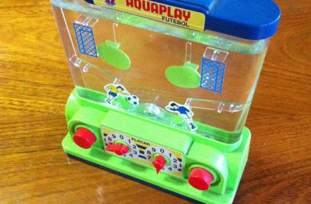 Brinquedos antigos aquaplay Rafael Tourinho