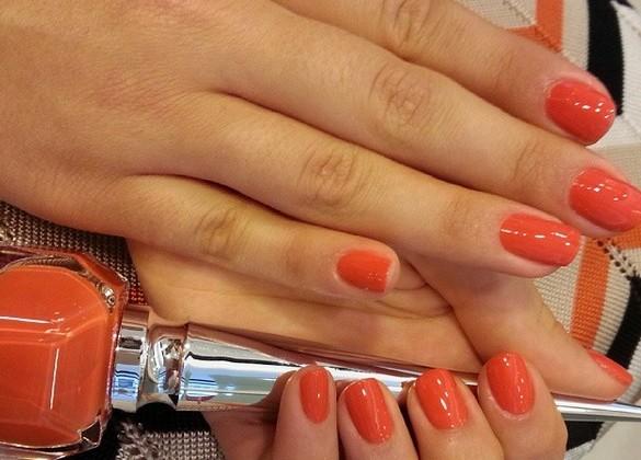 esmalte laranja instagram reproducao doutissima