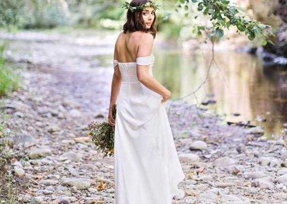 vestido de noiva simples instagram reproducao doutissima